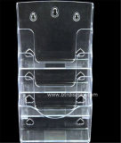 Constructeur clair Btr-H6308-2 de support de brochure de pneus du plastique A5 4