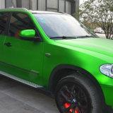 Neues Ankunft Tsautop 1.52*20m selbstklebendes Luftblase-freies Mattsatin-Chrom Belüftung-Auto, das Auto-Verpackungs-Vinyl mit RoHS Bescheinigung einwickelt