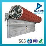 Fábrica diretamente venda do preço de alumínio Perfil de Rolo Garagem porta do obturador Janela