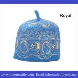 Sombreros musulmanes del rezo del fieltro de las lanas, casquillo musulmán del rezo, casquillos tradicionales africanos