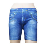 Europ Fashion Really Pockets Caresse Jeans para Mulheres Shorts