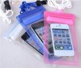 Bolso/saco impermeables baratos al por mayor del teléfono del PVC que viajan para Smartphone