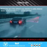 Indicatore luminoso di nebbia del laser della migliore di qualità del &Cheap automobile universale 12V/24V LED di prezzi anti, indicatore luminoso d'avvertimento esterno della lampada