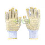 Самый горячий PVC сбывания ставит точки перчатки руки работая перчатки