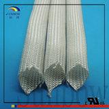 com as luvas brancas padrão da isolação do fio trançado da fibra de vidro da venda direta da fábrica do 9001:2008 do ISO para as impressoras 3D