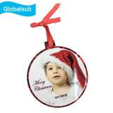 個人化されたクリスマスツリーの装飾のつまらないものの装飾をブランクにしなさい