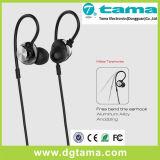 Écouteur en aluminium en métal avec l'écouteur de dans-Oreille de MIC pour Smartphone PC/MP3