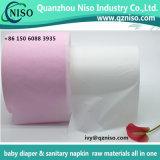 Película rosada respirable e irrespirable del PE del color 80%PP para el pañal/la servilleta sanitaria Backsheet
