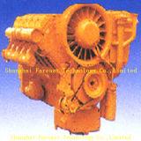 De Dieselmotor van Deutz F10L413f met de Vervangstukken van de Motor Deutz