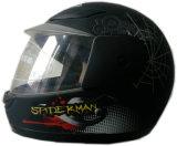 ヘルメットの子供の太字