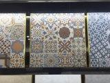 Tuile rustique Fhz6407 de porcelaine de décoration d'art de 60*60 Encaustic