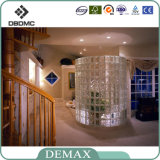High Quality Lower Price 190 * 190 * 80mm Vente en gros de blocs de verre
