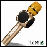 Микрофон E103 портативный беспроволочный Bluetooth с показателем петь игрока KTV Karaoke дома способа конденсатора диктора Mic миниым