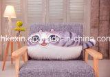 Цветастая подушка плодоовощ/кота форменный декоративная