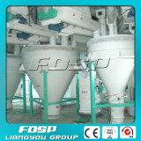 3-5 usine de flottement d'alimentation de poissons d'Aqua d'alimentation de poissons de t/h automatiquement
