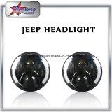 """"""" Linterna campo a través del halo 50W brillante estupendo 7, linterna redonda de la viga de la media del ángulo pulgada alta-baja LED del ojo 7 para el Wrangler del jeep"""