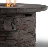 Tabella di pietra del pozzo del fuoco di gas del propano del getto per esterno