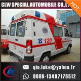 Цена автомобиля машины скорой помощи машины скорой помощи Китая тепловозное ICU