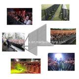 Barreira de cimento, barreira de alumínio do controle de multidão do concerto, barricada do controle para o concerto