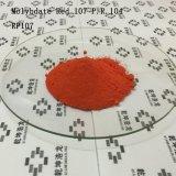 Plástico e vermelho usado borracha 107 do molibdato
