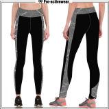 Pantaloni rovesciabili di yoga del nylon e dello Spandex di alta qualità