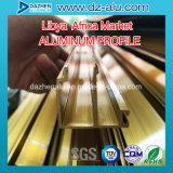 Windowsのドアの北アフリカの市場の工場よい価格のためのアルミニウムプロフィール