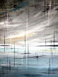 Handgemaltes Wand-Kunst-Auszugs-Ölgemälde