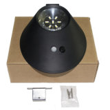 le détecteur de mouvement solaire extérieur léger solaire ovale de la lampe de mur 2W 7 DEL allume la lumière sans fil de garantie de jardin pour la frontière de sécurité de garage de jardin de yard de paquet de chemin de patio de mur