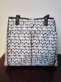 Мешок плеча сумки Tote охладителя вина холстины с алюминиевой фольгой