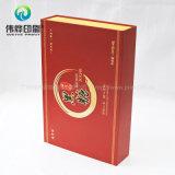Caixa de papel rígida vermelha da impressão para o líquido oral do regime