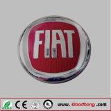 Het plastic Teken van het Merk van de Sticker van het Embleem van de Auto van het Neonlicht van het Chroom