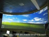 Экран имитатора репроектора фикчированной рамки размера 180 градусов большой
