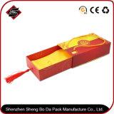 Caixa de empacotamento personalizada do papel de impressão do retângulo 4c para ofícios