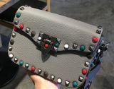 Sacchetto largo fissato variopinto Hcy-5029 di Crossbody della cinghia del sacchetto delle 2017 nuovo donne