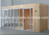 Sauna combinada vapor do projeto do clube do hotel para Multi-Person com personalização (AT-8661)