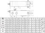 De Cellen van de Lading van de Straal van de Scheerbeurt van het Staal van de Legering van de goede Kwaliteit voor de Schalen van het Platform (B719)