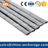 Conducto acanalado galvanizado del metal para la construcción del concreto pretensado