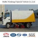 3.5cbm Isuzuのコンパクトな道掃除人のトラックのユーロ3