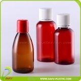 Bottiglia di plastica liquida dell'animale domestico 60ml di imballaggio di plastica con il coperchio a vite