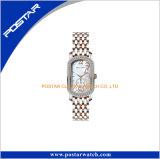 La plus défunte usine de montre d'OEM de Caseback d'acier inoxydable de modèle pour Madame