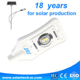 30W, 40W, 50W luz de calle de energía solar de la alta calidad LED con precio competitivo