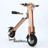 prix électrique d'or du scooter 36V bon marché