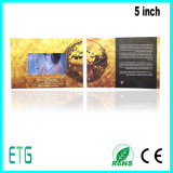 Bildschirm-videogruß-Karten 5 Zoll-IPS/HD für besten Respekt