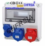 Combinaison Socket Industrial Power Box, boîtier électrique