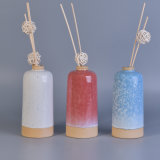 Dekorative Umwandlung-Glasur-keramische Diffuser- (Zerstäuber)flaschen mit Schilf