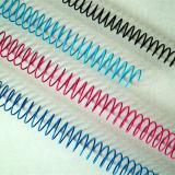 De nylon Met een laag bedekte Spiraalvormige Draad van het Metaal