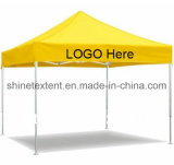 Promotie met het Af:drukken die van het Embleem Tent vouwen die Gazebo voor OpenluchtGebruik vouwen