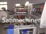 Trapos mojados rodados que fabrican la máquina