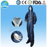 Химически упорная ткань Coveralls SMS для фабрики