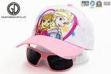 El sombrero 100% del bebé del algodón de la buena calidad embroma la gorra de béisbol de Sun